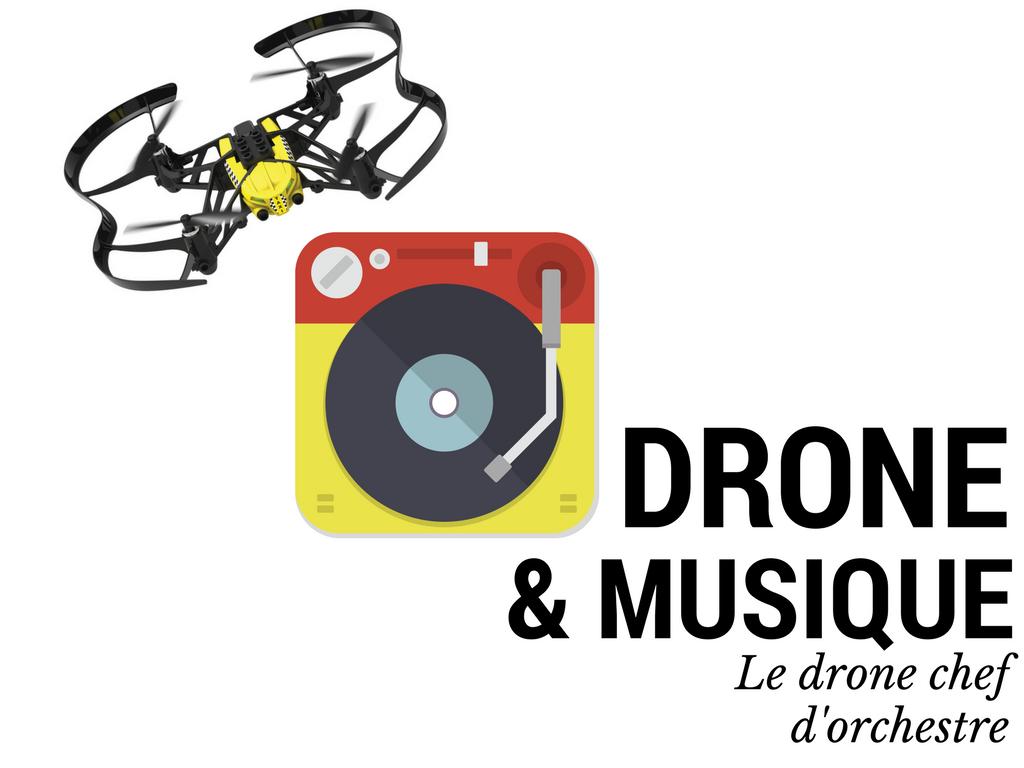Drone vecteur de création musicale !