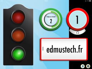 sonometre silent light edmustech sans logo
