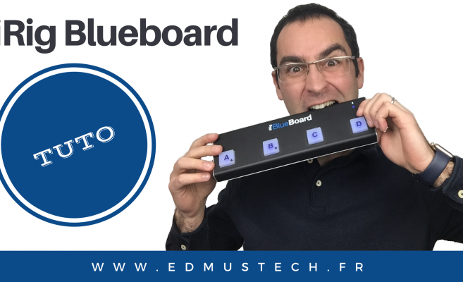 iRig blueboard Tutos